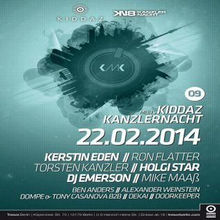 Torsten Kanzler @ Kiddaz Meets Kanzlernacht 09 - Tresor Berlin - 22.02.2014