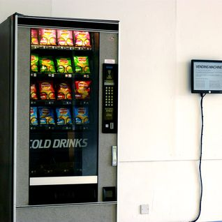 15 Apr 2010: BBC Radio Scotland (Vending Machine feature)