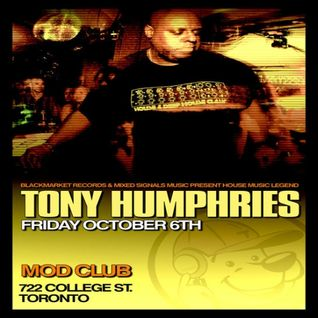 Tony Humphries - Live @ The Mod Club - Toronto - 06.10.06