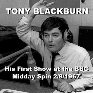 Tony Blackburn's First show on the BBC 1967