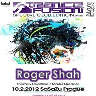 10.02.2012 - Roger Shah Live @ Trancefusion Special Club Edition - SasaZu Prague