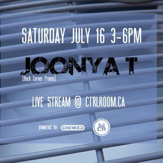 Jonnya T @ CTRL ROOM - July 16 2016