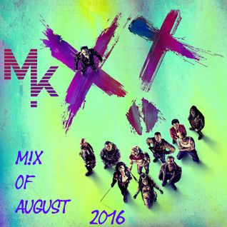 August Mix 2016 (mixed by MARV!N K!M) [SPECIAL SUICIDE SQUAD MIX]