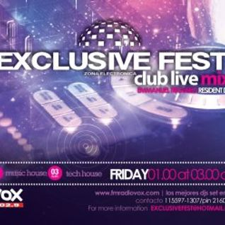 Exclusive Fest Club 17-7-12 FM Radio Vox 102.9