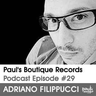 Paul's Boutique Records Podcast #29 Adriano Filippucci
