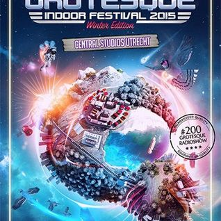 Mark Sixma - Live @ GrotesQue Indoor Festival (Netherlands) - 12.12.2015
