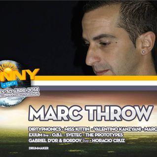 Marc Throw@Sunny Nigth 30-4-14