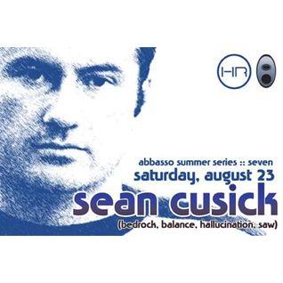 Sean Cusick - Live at Abbasso Underground Lounge, Summer Series, Cleveland (23-08-2003)
