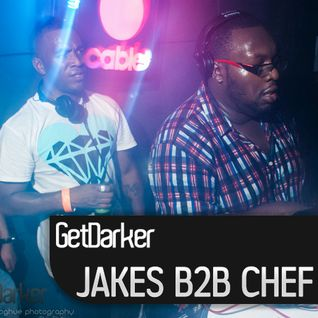 Jakes b2b Chef - Live at GetDarker, Cable - London - 03 August 2012