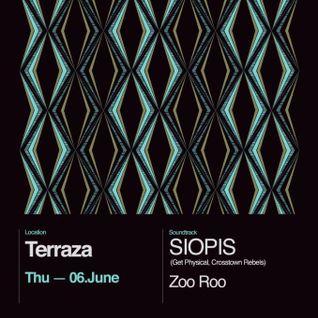 ZooRoo a.k.a Kouki Dee,Evangelos Vita, Elias Argiropoulos warming up Siopis @ Terraza Athens 6/6/13