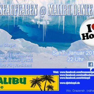 Dj Chrizz Pii live @ Houseaufgaben Vol.5, Malibu Dance Bremerhaven