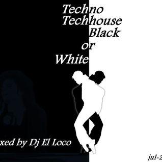 Black or White - Tribal Techno, Techno, Tech House [jul-2013] - Mixed by Dj El Loco