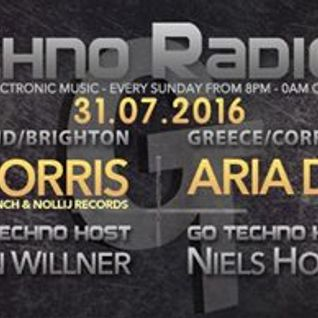 Go Techno Radio Show 31/07/2016