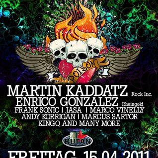 Martin Kaddatz@Sound of Poison, Butan Club Wuppertal 14.04.2011