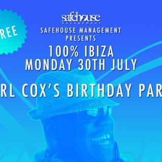 Part II / Carl Cox / Live from Carl Cox birthday party @ Sands / 30.07.2012 / Ibiza Sonica.com
