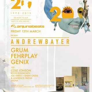 Fehrplay - Live @ Ministry of Sound (London) - 13.03.2015