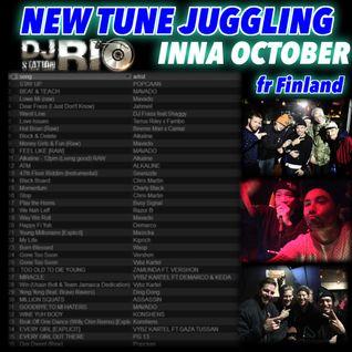 "DJ RIO STATION ""New Tune Juggling"" October 19th"