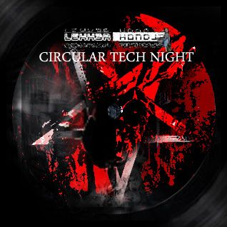 LH // ME 201611 // Circular Tech Night Black // DnB, Crossbreed, Neurofunk