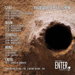 Dubfire b2b Victor Calderone - Live At ENTER.Sake, Week 12 (CLOSING), Space (Ibiza) - 18-Sep-2015