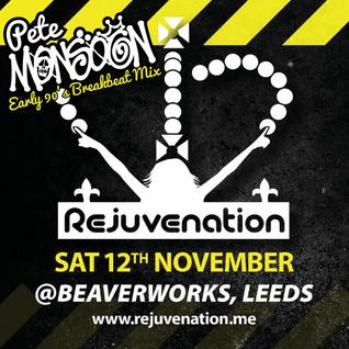Pete Monsoon - Rejuvenation - Rejuven8 @ Beaver Works, Leeds (12th Nov 2016)