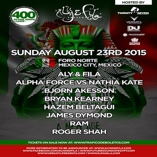 RAM – Live @ Future Sound Of Egypt 400 (Foro Norte, Mexico City) – 23-AUG-2015