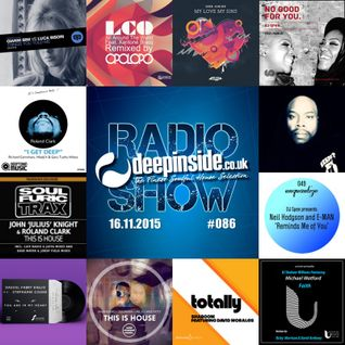 DEEPINSIDE RADIO SHOW 086 (Roland Clark Artist of the week)