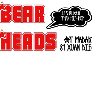 Mix #2 Bear Heads 6 @ Madake, Hanoi
