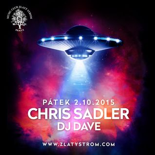 Chris Sadler live mix in MC Zlatý Strom 2.10.2015
