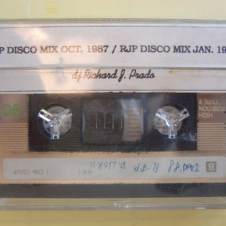 RJP Disco Mix Jan. 1988 Side B