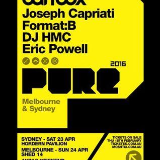 2016-04-29 - Carl Cox - Global 684 (Live @ Pure, Hordern Pavilion, Sydney 2016-04-23)