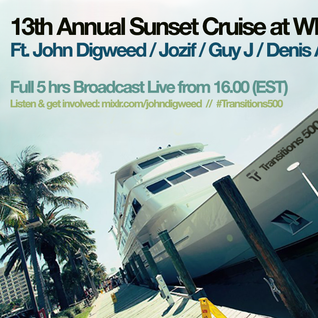 John Digweed, Guy J, Jozif & Denis A - Live at 13th Annual Sunset Cruise, WMC, Miami (27-03-2014)