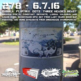 The Bottomless Crates Radio Show 278 - 6/7/16
