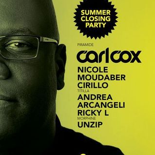 Carl Cox - Live @ Cocorico Closing Party (Riccione Italy) - 08.09.2012