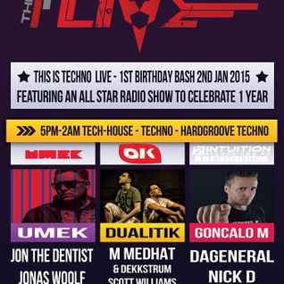 ThisIsTechnoLive - NKD 1stBirthday 2nd Jan 2015