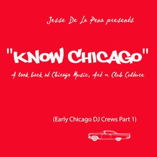 "JDLP presents ""Know Chicago"" (Early Chicago DJ Crews Part 1) on Vocalo Radio 89.5 & 90.7fm"