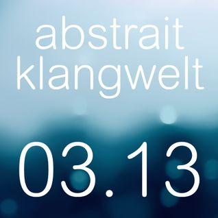 abstrait klangwelt 03.13