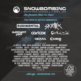 Dubfire  - Live At Snowbombing 2015 (Mayrhofen, Austria) - 11-Apr-2015