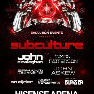 John Askew - Live @ Subculture (Hisense Arena Melbourne, Australia) - 03.10.2015