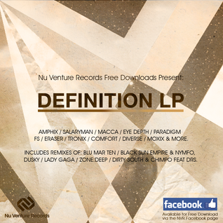 Definition LP - Drum & Bass Promo Mix (NVR FREE Download)
