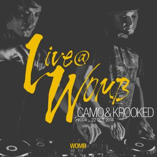 Live at WOMB #004 - CAMO & KROOKED - 4th Oct 2014