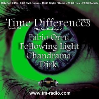 Dirk - Host Mix - Time Differences 234 (30th October 2016) on TM-Radio
