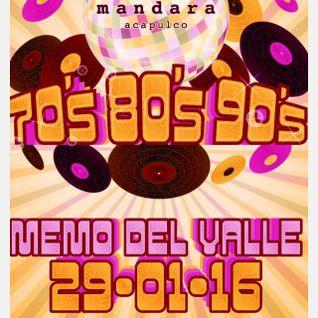 Mandara Acapulco 70's 80's y 90's  Enero 29  2016