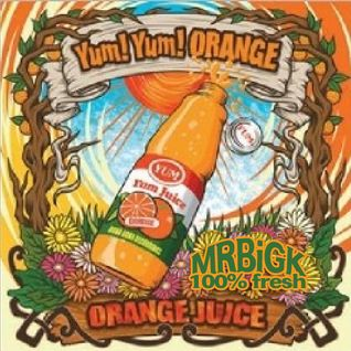 MRBiGK - SPiN ORANGE (100% fresh dub juice!)
