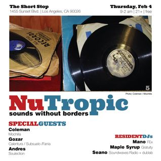 Coleman live at NuTropic (2.4.16)