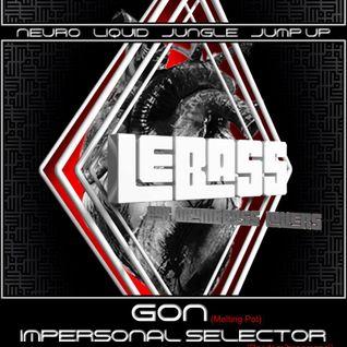 Impersonal Selector - LeBass @ Ya'sta (warm-up) (5-8-16)