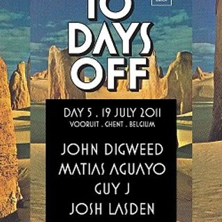 10 Days Off 2011 (John Digweed, Guy J night)
