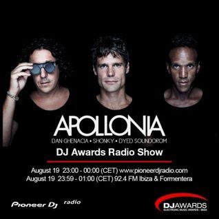 DJ Awards 2016 Radio Show #008 (Apollonia Guest Mix)