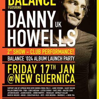 Jamie Stevens DJ set - Warm-Up for Danny Howells @ New Guernica, Melbourne, Jan 17 2014