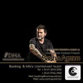 Sasha Agram Contrapunkt Podcast @ DNA RADIO FM, Buenos Aires