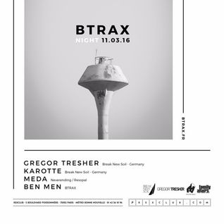 Gregor Tresher B2B Karotte - Live @ Rex Club (Paris, France) - 07.03.2016